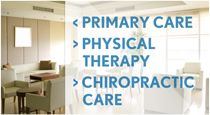 Primary Care, Physical Therapy, Chiropractic Care