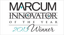 Marcum Innovator of the Year 2013 Winner