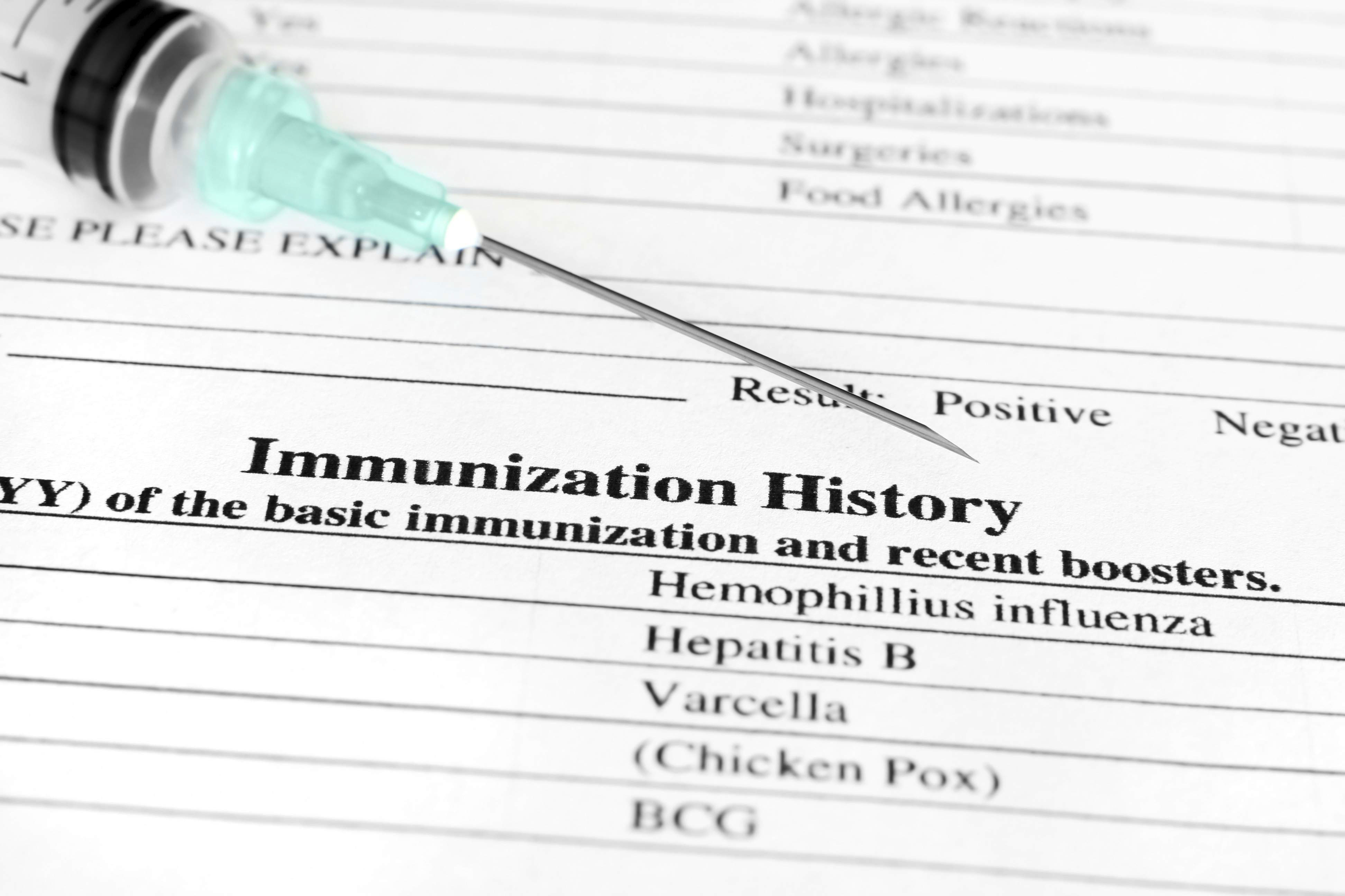 Vaccination Tracking